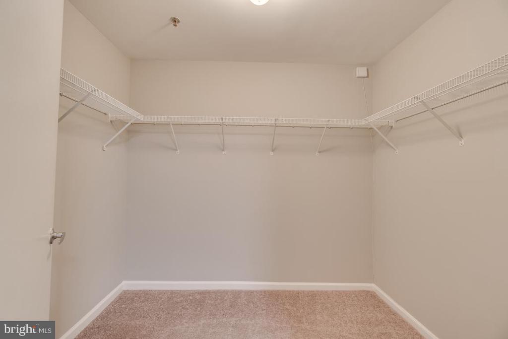 Loft Walk-In Closet - 1201 EAST WEST HWY #3, SILVER SPRING