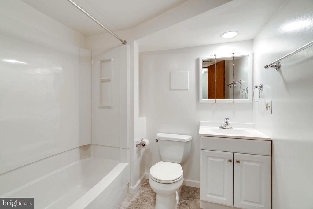 Full Bath - Basement - 4108 ADDISON RD, FAIRFAX