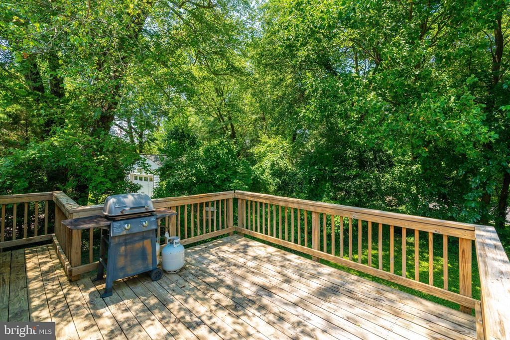 Deck off Kitchen - 4108 ADDISON RD, FAIRFAX