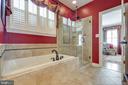 Tub, Frameless Shower & Dual Vanity - 38235 MILLSTONE DR, PURCELLVILLE