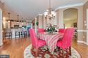 Breakfast Room Off Kitchen - 38235 MILLSTONE DR, PURCELLVILLE