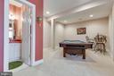 Lower Level Den & Full Bathroom - 38235 MILLSTONE DR, PURCELLVILLE