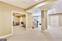 Lower Level Recreational Room - 402 BEALL AVE, ROCKVILLE