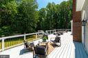 New deck board, rails & solar LED lights - 11112 HAMPTON RD, FAIRFAX STATION