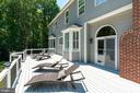 Ample space for lounging or al fresco dining - 11112 HAMPTON RD, FAIRFAX STATION
