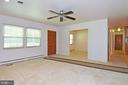 Living/Dining - 222 OLDE CONCORD RD, STAFFORD