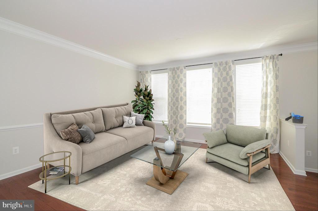Family Room - 43275 MITCHAM SQ, ASHBURN