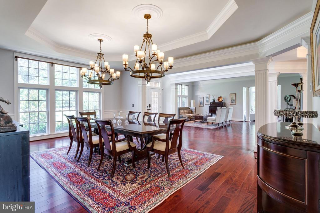 Open Floorplan is Ideal for Entertaining. - 2508 COULTER LN, OAKTON