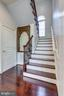 A second, Private Staircase Ascends to Upper Lvl. - 2508 COULTER LN, OAKTON