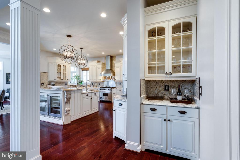 Butlers Pantry Adjacent to Kitchen/Great Room. - 2508 COULTER LN, OAKTON