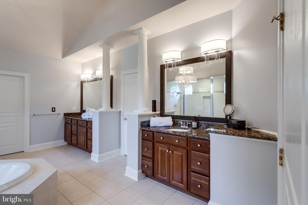 Dual Cherry Vanities &  Walk-in Closets. - 2508 COULTER LN, OAKTON