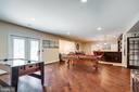 Expansive Lower Level Recreation Room. - 2508 COULTER LN, OAKTON