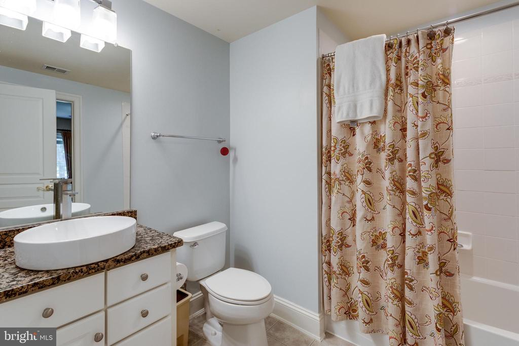 1 of 2 Full Baths on Lower Level - 2508 COULTER LN, OAKTON