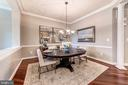 Formal Dining Room - 18382 FAIRWAY OAKS SQ, LEESBURG