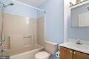 Hall Bathroom - 25714 WOODFIELD RD, DAMASCUS