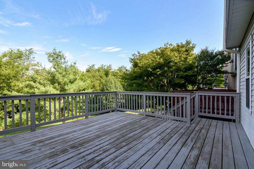 Back Deck - 25714 WOODFIELD RD, DAMASCUS