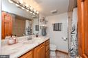 Lower Level Full Bathroom - 5700 CHAPIN AVE, ALEXANDRIA