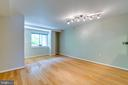 Spacious living room. - 7981 EASTERN AVE #202, SILVER SPRING
