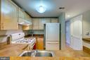 Very functional kitchen. - 7981 EASTERN AVE #202, SILVER SPRING