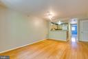 Open floor plan. - 7981 EASTERN AVE #202, SILVER SPRING