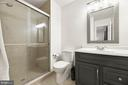 Master bathroom with walk in shower - 12 DUDLEY CT, STERLING