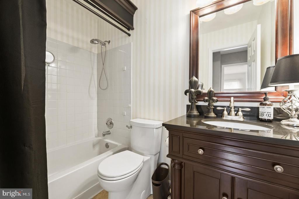 Remodeled upstairs hall bathroom w/shower tub - 12 DUDLEY CT, STERLING