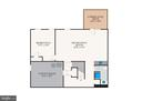 Lower level floor plan - 7304 BACKLICK RD, SPRINGFIELD