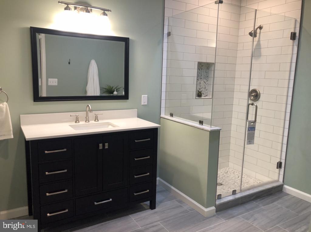 Bathroom 5 in Lower Level - 11112 HAMPTON RD, FAIRFAX STATION