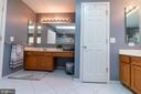 master bathroom - 1302 WANETA CT, ODENTON