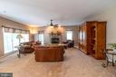 family room - 1302 WANETA CT, ODENTON