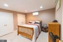 6th bedroom in basement - 1302 WANETA CT, ODENTON