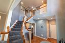 foyer main level - 1302 WANETA CT, ODENTON