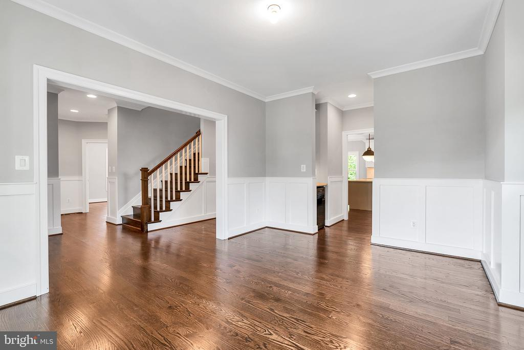 Formal Dining Room into Foyer (Similar sold Home) - 1849 WARE RD, FALLS CHURCH