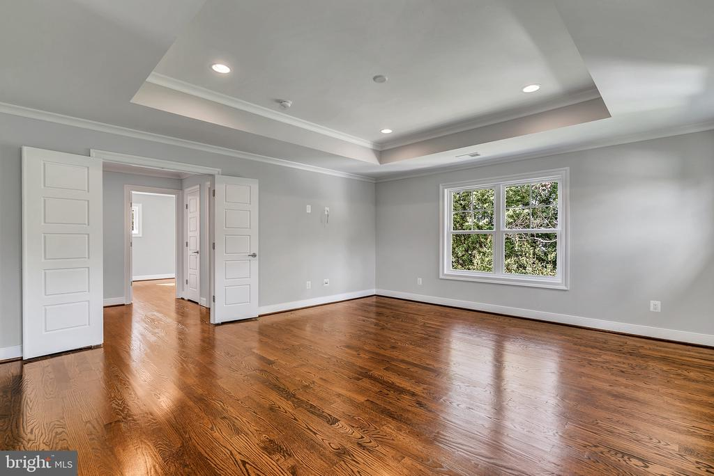 Primary Bedroom Suite w/opt Hardwood(Similar Home) - 1849 WARE RD, FALLS CHURCH