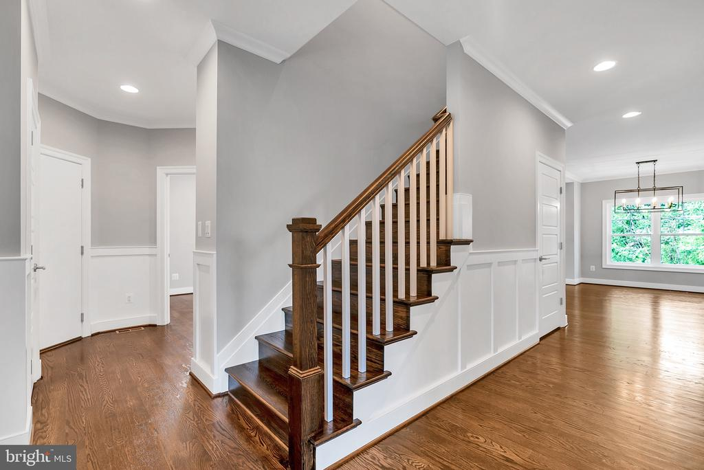 Entry Foyer (Similar sold Home) - 1849 WARE RD, FALLS CHURCH