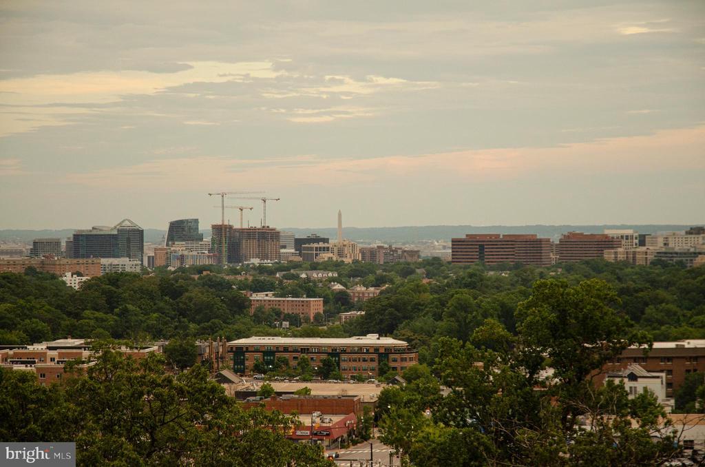 View of DC / Roof of Stoneridge Knoll - 4201 LEE HIGHWAY #404, ARLINGTON