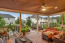 Very Spacious and Beautiful Porch - 42050 MIDDLEHAM CT, ASHBURN