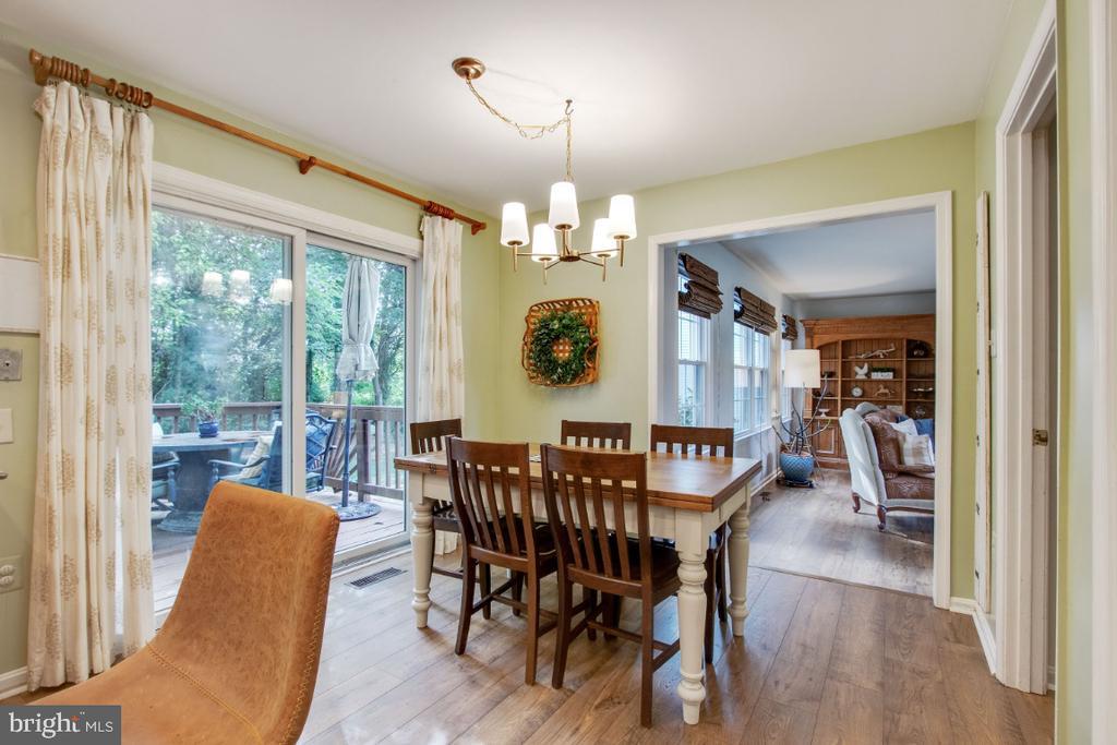 Table Space in Kitchen - 20400 ALTAVISTA WAY, ASHBURN