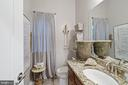 Bathroom with Granite Counter Top - 42050 MIDDLEHAM CT, ASHBURN