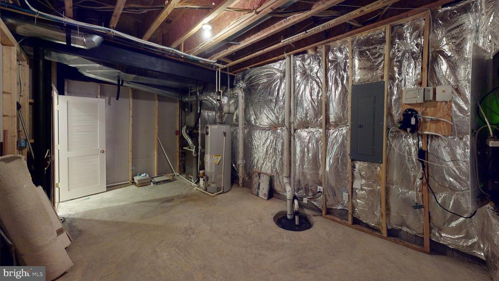 Storage area in basement - 1410 MACFREE CT, ODENTON