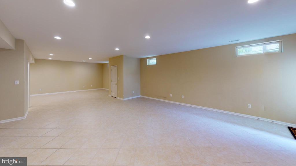 Basement tile flooring - 1410 MACFREE CT, ODENTON