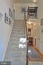 Stairs from Foyer to Upper Level - 14504 S HILLS CT, CENTREVILLE