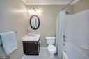 Hallway bath - 13 THORNBERRY LN, STAFFORD