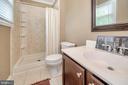 Master bathroom/shower - 13 THORNBERRY LN, STAFFORD
