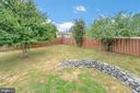 Fenced yard - 13 THORNBERRY LN, STAFFORD