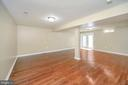 Basement plenty of room for a pool table/walkout - 13 THORNBERRY LN, STAFFORD