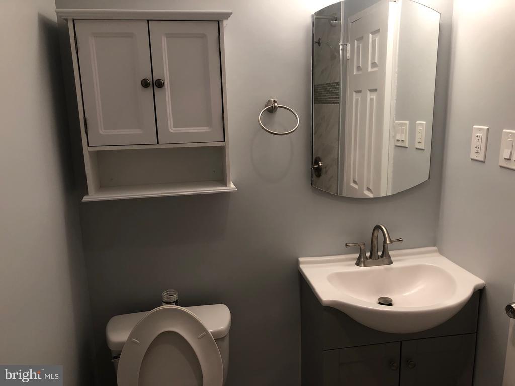 Renovated bathroom - 1900 LYTTONSVILLE RD #306, SILVER SPRING