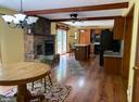 Dining Room / Kitchen - 544 WHITE PINE LN, BOYCE