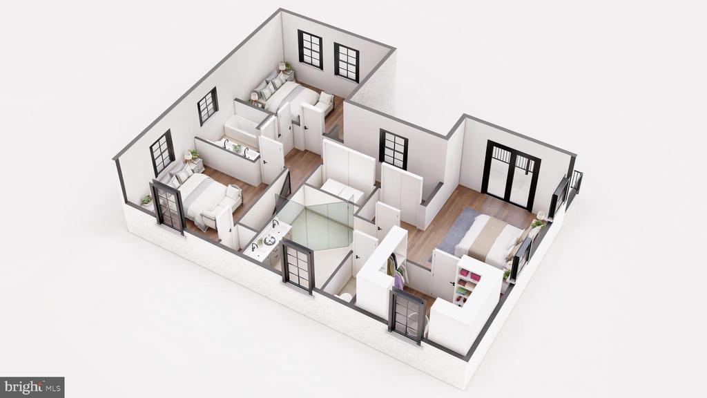3 Bedrooms + 2 Baths + Laundry Upstairs - 3729 N PERSHING DR, ARLINGTON