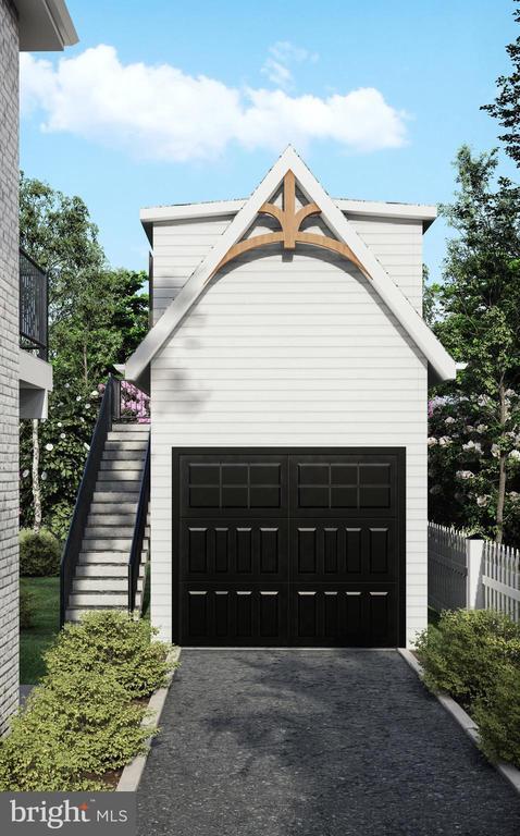 Garage with Au-Pair Suite  Above - 3729 N PERSHING DR, ARLINGTON